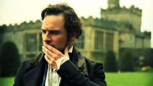 Michael Fassbender as Mr. Rochester in a recent film depiction of Jane Eyre.
